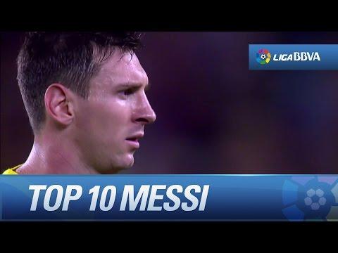 Top 10 Goals - Leo Messi - 2013/14 - HD