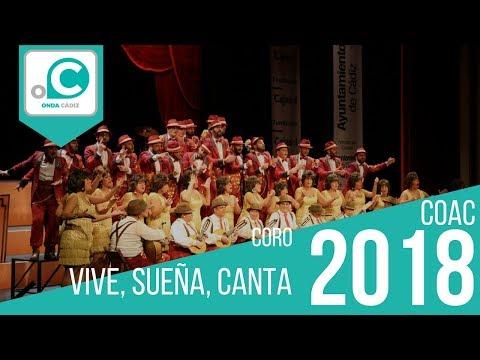 Sesión de Preliminares, la agrupación Vive, sueña, canta actúa hoy en la modalidad de Coros.