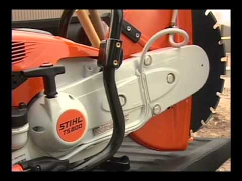 STIHL - Cut-Off Machine Safety, Maintenance and Operation Video