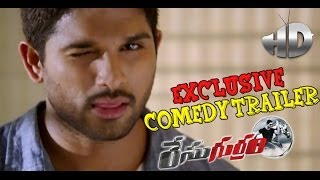 Race Gurram Latest Exclusive Comedy Trailer - Allu Arjun, Shruti Haasan, Surender Reddy - TELUGUFILMNAGAR