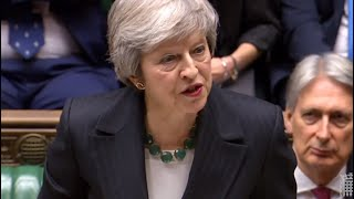 Theresa May addresses the U.K.'s House of Commons - WASHINGTONPOST