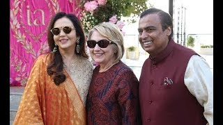 Hilary Clinton in Udaipur for pre wedding function of Isha Ambani with Anand Piramal - NEWSXLIVE
