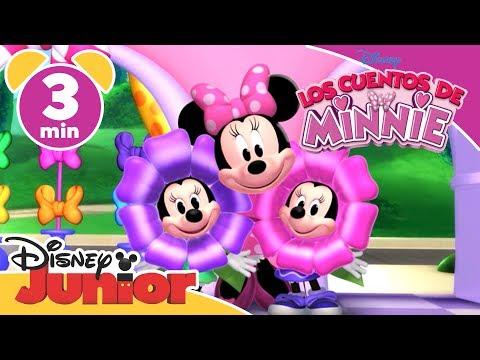 Disney Junior España | Los cuentos de Minnie: Arreglo floral