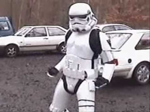 Dancing Stormtrooper