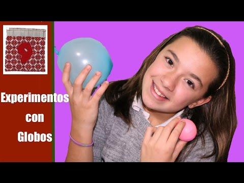 Experimentos cientificos 4: Globos que no explotan