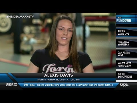 Miesha Tate and Alexis Davis Talk Ronda Rousey on Inside MMA