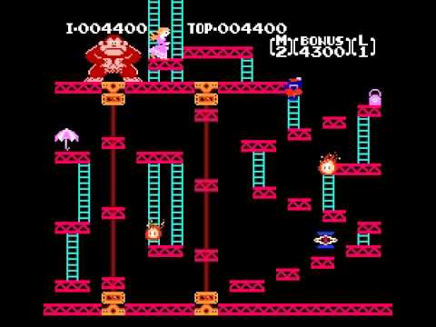 Donkey Kong - NES Gameplay - Donkey Kong - User video