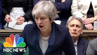 Prime Minister Theresa May's Brexit Deal Rejected By U.K. Lawmakers | NBC News - NBCNEWS