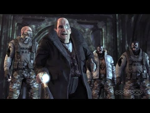 Batman: Arkham City - GameSpot Exclusive Penguin Reveal (PC, PS3, Xbox 360, Wii)
