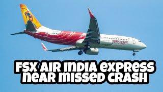 AIR INDIA express:near missed crash:V.I.P.Air lines&Air India