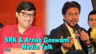 SRK agrees with Arnab | Wants Mumbai to be media hub - IANSLIVE