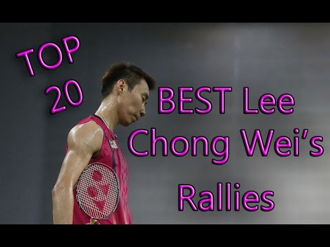 Best Lee Chong Wei's Rallies in 10 years - Trick Shots,funny moments and Highlights -Badminton