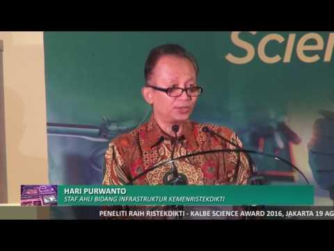 Peneliti Raih Ristekdikti-Kalbe Science Award 2016