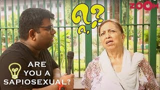 Delhi Students on being Sapiosexual or not | Funny Response | Public Opinion | VOX POPS - ZOOMDEKHO