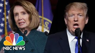 Lawmakers React To President Donald Trump Canceling Nancy Pelosi's Afghanistan Trip | NBC News - NBCNEWS
