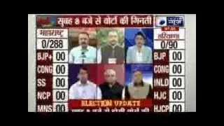 Maharashtra, Haryana polls: counting of votes today - ITVNEWSINDIA