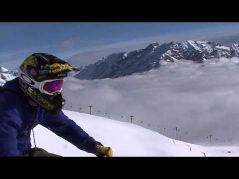 Snowbike at Carosello 3000 Ski Area - Livigno