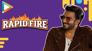 Ranveer Singh SLAYS in this exciting RAPID FIRE | Sara Ali Khan | Simmba - HUNGAMA