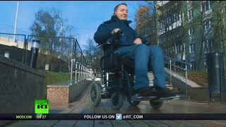 Mind over Matter: Russian former paraglider presents modern wheelchairs for active lifestyle - RUSSIATODAY