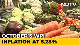 Wholesale Inflation Surges To Four-Month High In October - NDTVPROFIT