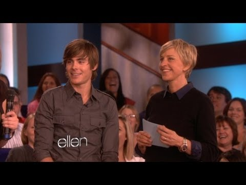 Memorable Moment Zac Efron Plays Zac or Smack