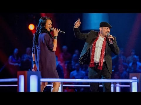 Elesha Paul Moses Vs Gary Poole: Battle Performance - The Voice UK 2014 - BBC One
