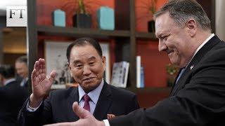 Pompeo expresses optimism over North Korea's denuclearisation - FINANCIALTIMESVIDEOS