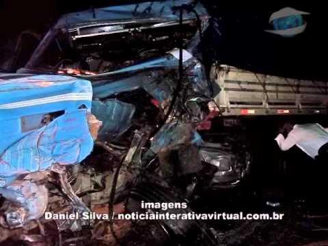 Jornal TV Sul • Acidente fatal entre caminhões próximo a Guaranésia