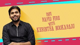 Rapid Fire With Kerintha Nookaraju | Operation Gold Fish | Aadi | #OGF | Nithya | IndiaGlitz Telugu - IGTELUGU