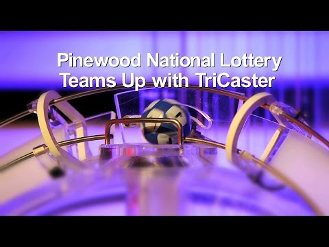 Pinewood National Lottery Teams Up with NewTek TriCaster