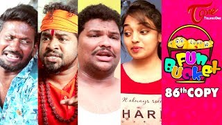 Fun Bucket | 86th Episode | Funny Videos | #TeluguComedyWebSeries - TELUGUONE