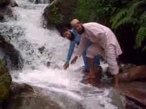 Naraan Kaghan Water Falling Beautiful look