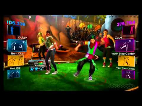 Dance Central 2 Club Can't Handle Me Gameplay
