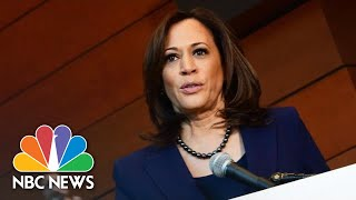 Senator Kamala Harris Speaks For First Time After Announcing Run For President | NBC News - NBCNEWS