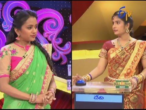 Star Mahila – 19th August 2016– Full Episode - ETV Telugu | cinevedika.com