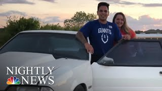 Siblings Surprise Dad With Beloved Ford Mustang He Sold To Pay Medical Bills | NBC Nightly News - NBCNEWS