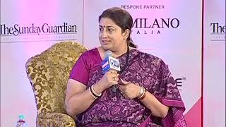 Women of Steel Summit: Smriti Irani on MeToo movement, says it's a personal endeavour to get justice - NEWSXLIVE