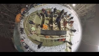 Freezing Waters: Russians take icy dip on Epiphany (360 Video) - RUSSIATODAY