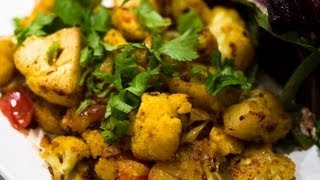 Cauliflower Lima Beans Curry ..