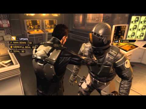 Deus Ex: Human Revolution - Hardest Difficulty &amp; Pacifist Achievement Walkthrough - Part 60