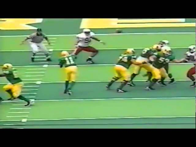 Oregon WR Tony Hartley 13 yard touchdown catch vs. Stanford 9-26-98