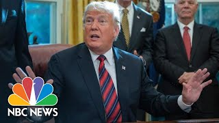 President Donald Trump On His Caravan Claims: 'There Is No Proof Of Anything' | NBC News - NBCNEWS