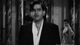Raj Kapoor, Nargis, Nadira, Raj Desires To Quit Crime, Best Drama Scenes