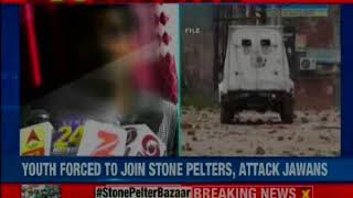 U.P youth forced to pelt stones in the Valley, Promised jobs in Kashmir - NEWSXLIVE
