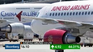 Why Juneyao Airlines Is Surging in Shanghai Debut - BLOOMBERG