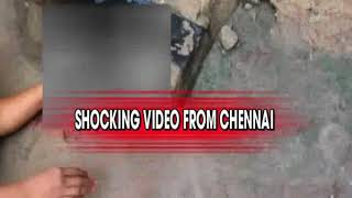 Shocking video from Chennai, New-Born baby dumped in drainage - NEWSXLIVE