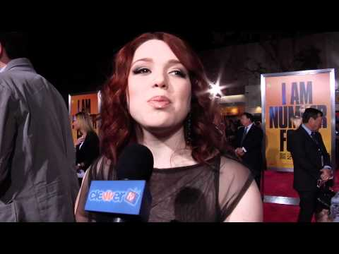 Jennifer Stone: I Am Number Four Premiere Interview