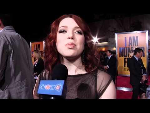 Jennifer Stone: I Am Number Four Premiere Interview