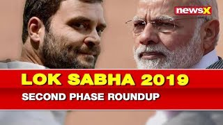Lok Sabha 2nd Phase Elections 2019: Voter turnout among second phase of Elections 2019 - NEWSXLIVE