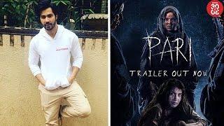 Varun Dhawan Gives A Glimpse Of His Film 'October' | Virat Praises Wife Anushka's 'Pari' Trailer - ZOOMDEKHO